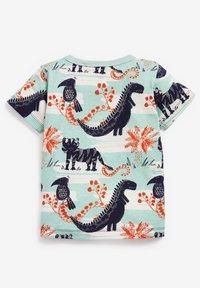 Next - Print T-shirt - light blue - 1