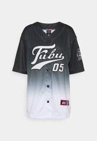 FUBU - VARSITY BASEBALL - Print T-shirt - black - 4