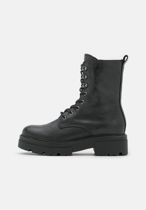 BECK - Lace-up ankle boots - black