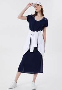 LIU JO - Jersey dress - blue - 1