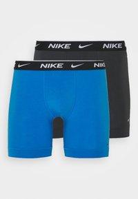 Nike Underwear - BOXER BRIEF STRETCH 2PACK - Boxerky - anthracite/blue - 3