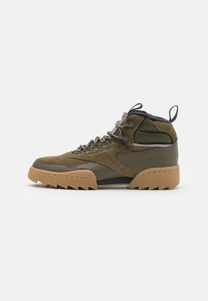 EXOFIT UNISEX - Sneakersy niskie - army green/black