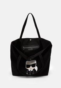 KARL LAGERFELD - IKONIK KARL TOTE - Tote bag - black - 3