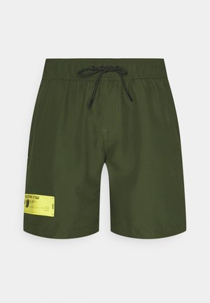 DIRIK SOLID - Swimming shorts - caval green