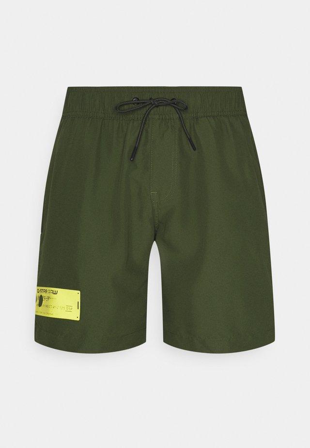 DIRIK SOLID - Swimming shorts - caval green