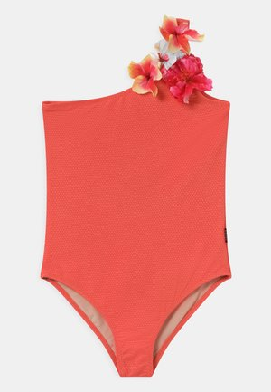 NAI - Swimsuit - coral glitter