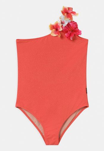 NAI - Swimsuit - coral glitter