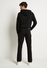Jack & Jones - JJICHRIS JJORIGINAL - Straight leg jeans - black denim - 3