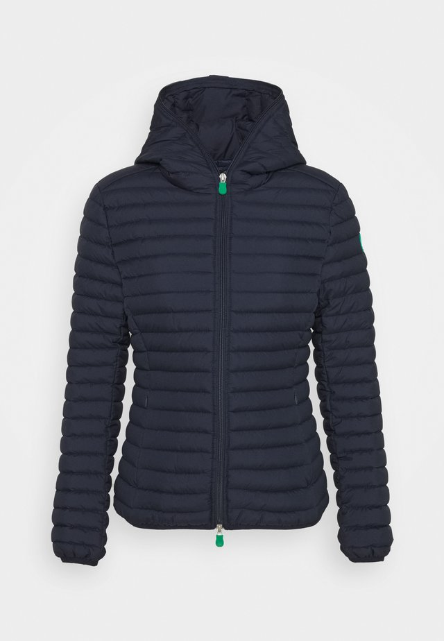 ELLA HOODED JACKET - Winter jacket - navy blue