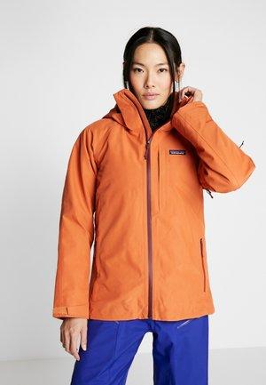 INSULATED POWDER BOWL  - Snowboard jacket - sunset orange