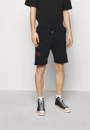 Šortky - faded black/red