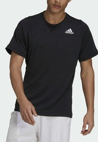 adidas Performance - FREELIFT TEE - Funkční triko - black/white - 4