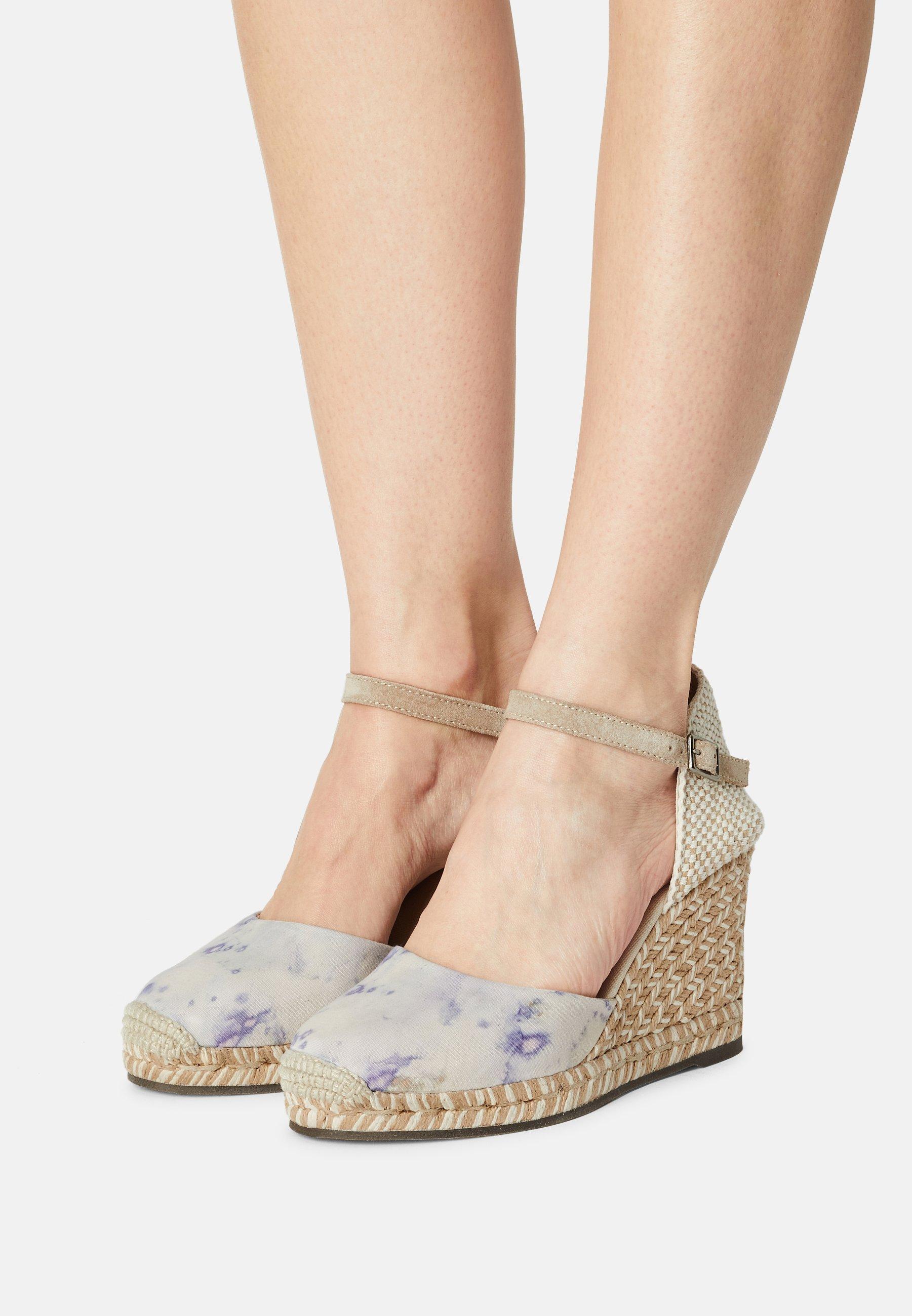 Women GLOBAL TERRA TINTE - Wedge sandals