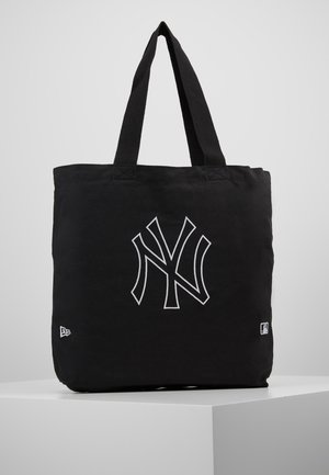 TOTE - Shopping bags - black/optic white