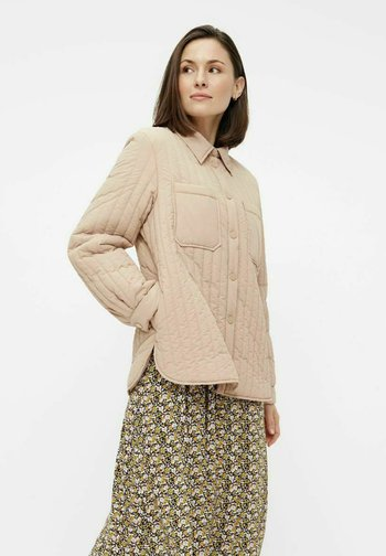 Light jacket - warm taupe