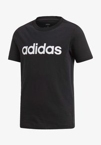 adidas Performance - ESSENTIALS LINEAR LOGO T-SHIRT - Camiseta estampada - black - 2
