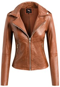 BTFCPH - MIA - Leather jacket - dark cognac - 1