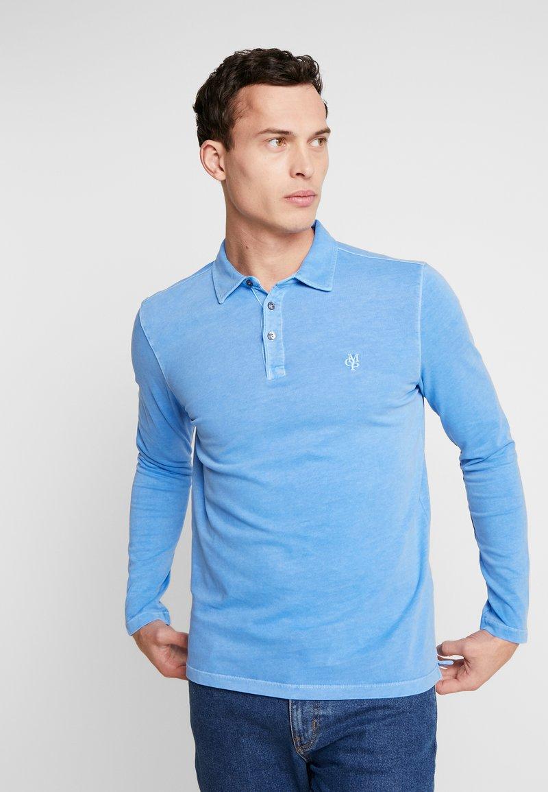Marc O'Polo - LONG SLEEVE - Polo shirt - pacific coast