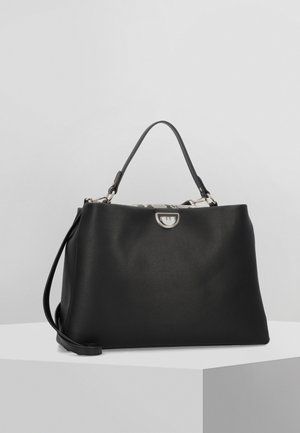 EVERYDAY HANDTASCHE LEDER 40 CM - Handbag - black