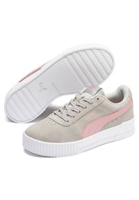 Puma - CARINA YOUTH - Trainers - gray violet-bridal rose - 2