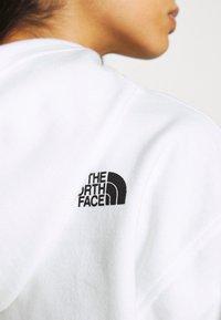 The North Face - COORDINATES CROP DROP HOODIE - Sweatshirt - white - 5