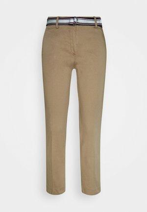 DOBBY - Trousers - beige