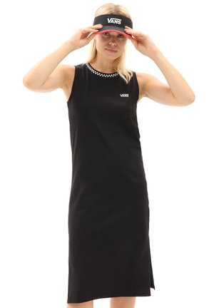 WM KALIE TANK MIDI DRESS - Jerseyjurk - black