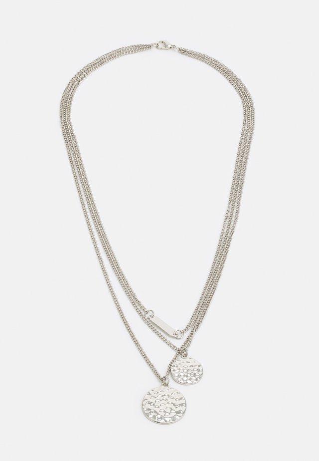 UNISEX - Collana - silver-coloured