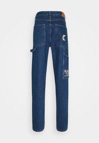 Karl Kani - PANTS RINSE - Jeans baggy - blue - 1