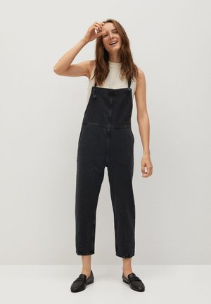 EMMA - Salopette - sort denim
