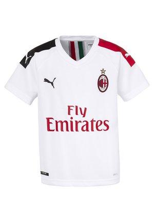 MILAN  - Klubtrøjer - white-tango red