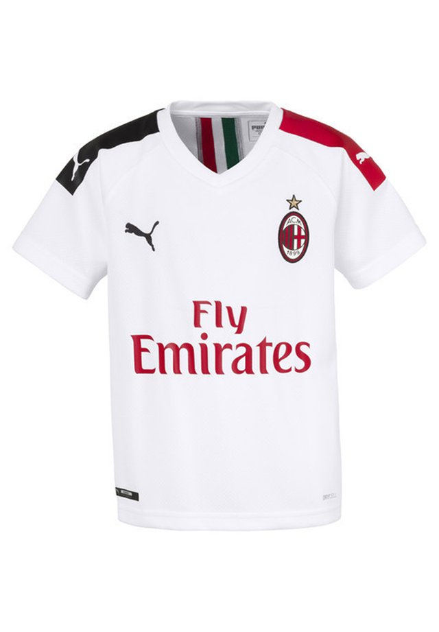 MILAN  - Club wear - white-tango red