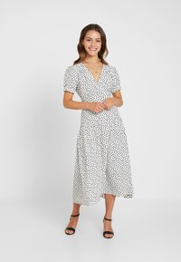 Topshop Petite - WHITE STARLIGHT PRINT DRESS - Day dress - white - 2