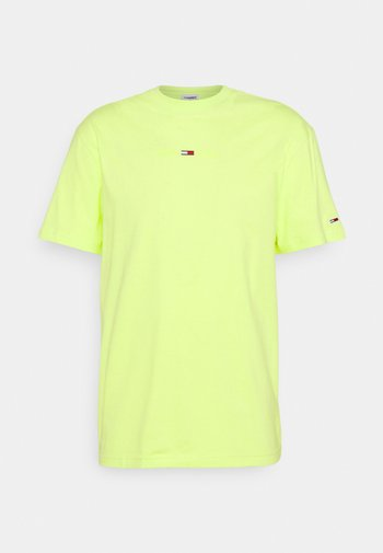 LINEAR LOGO TEE - Basic T-shirt - green