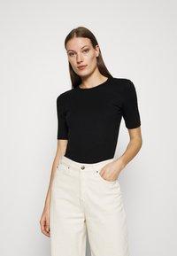ARKET - T-shirt - Print T-shirt - black - 0