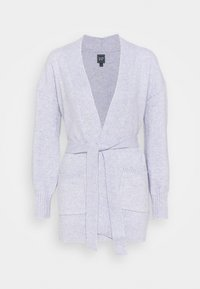 GAP - BELTED OPEN SUPER PLUSH - Cardigan - frosted lilac - 0