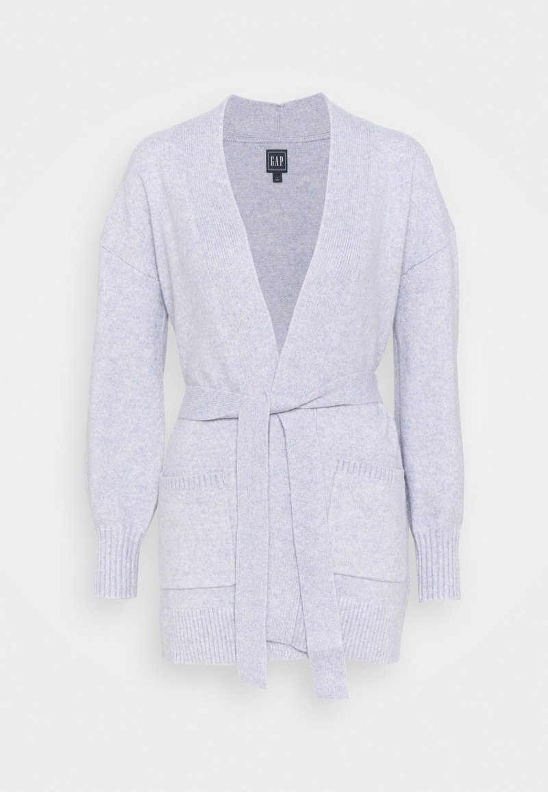 GAP - BELTED OPEN SUPER PLUSH - Cardigan - frosted lilac