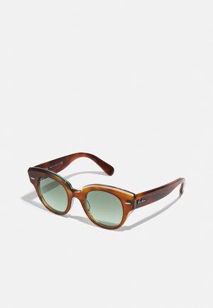 Sunčane naočale - havana on transparent green