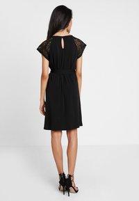 Vero Moda - VMALBERTA DRESS - Jersey dress - black - 2