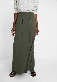 Anna Field - Maxi skirt - olive night - 0