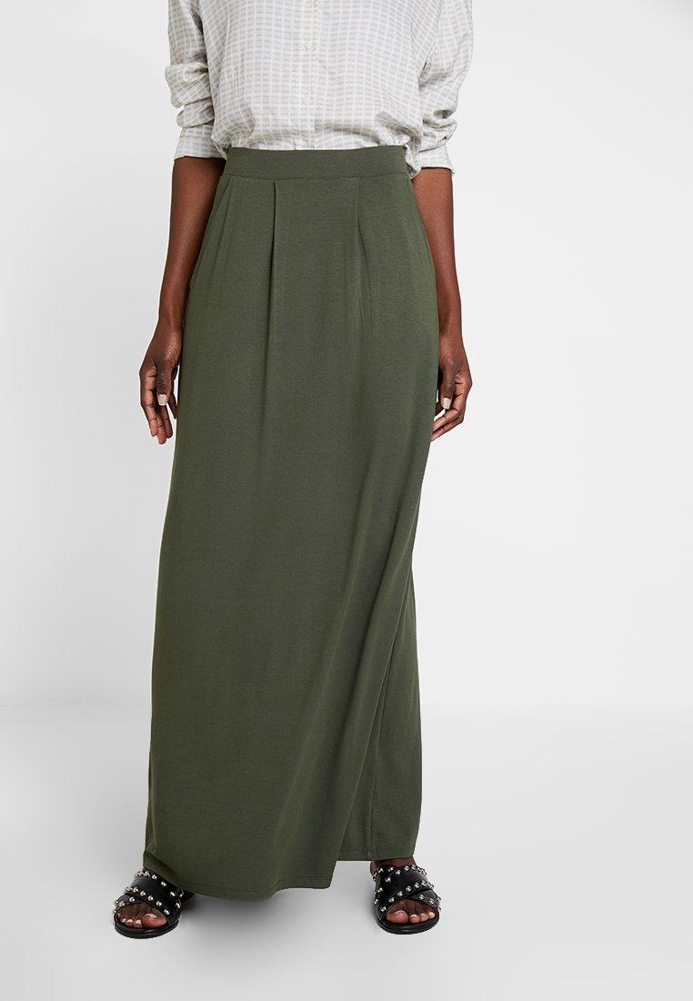 Anna Field - Maxi skirt - olive night