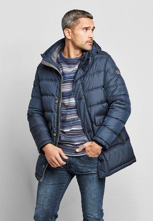 Down coat - marine