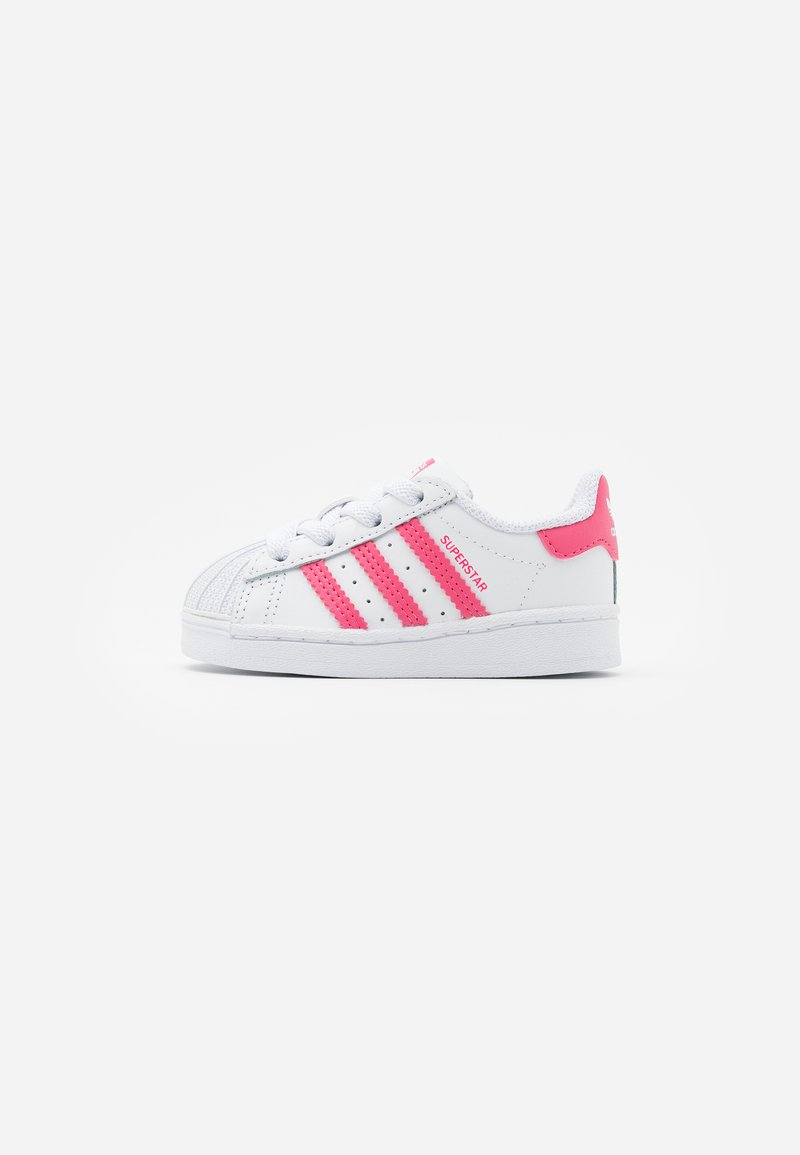 adidas Originals - SUPERSTAR  - Sneakers laag - footwear white/super pink/core black