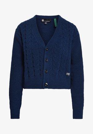 CABLE  - Vest - sartho blue