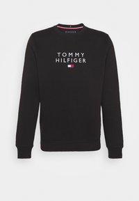 Tommy Hilfiger - STACKED FLAG CREWNECK - Sweatshirt - black - 4