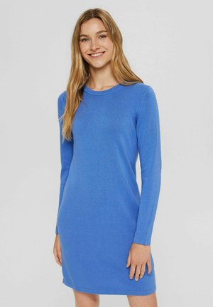BASIC AUS - Shift dress - bright blue