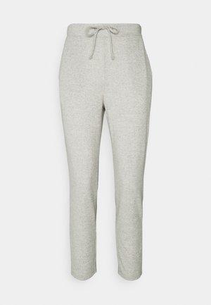 VILUNE PANTS - Bukse - super light grey melange