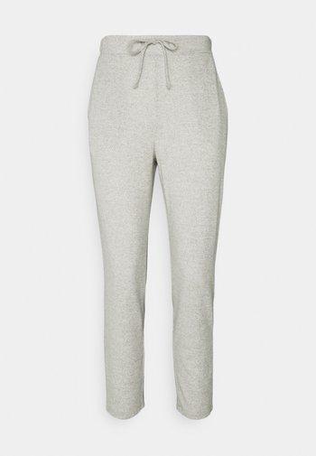 VILUNE PANTS - Broek - super light grey melange