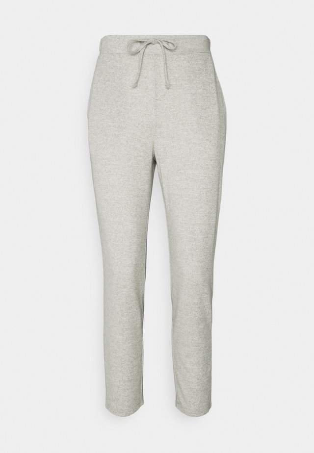 VILUNE PANTS - Broek - super light grey melange