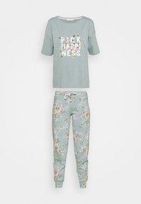 Marks & Spencer London - HAPPINESS - Pyjamas - aqua - 5
